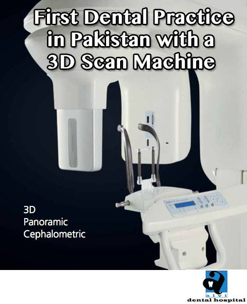 Alvi Dental Hospital acquires the First 3D Cone Beam machine in Pakistan
