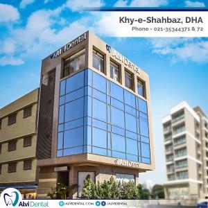 Alvi Dental Hospital on Kh-e-Shahbaz