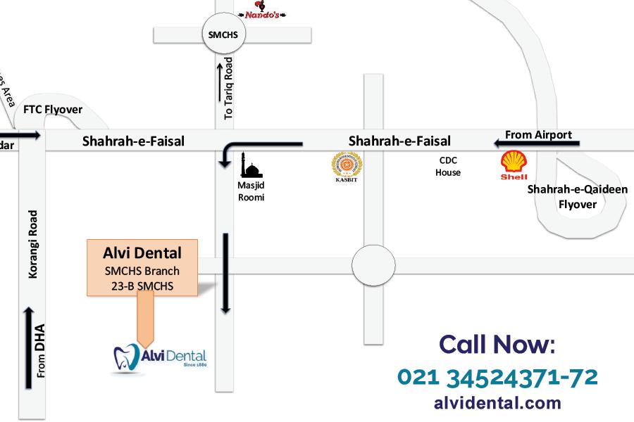 Alvi Dental Map SMCHS