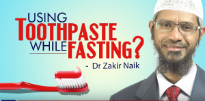 Can you use Toothpaste While fasting